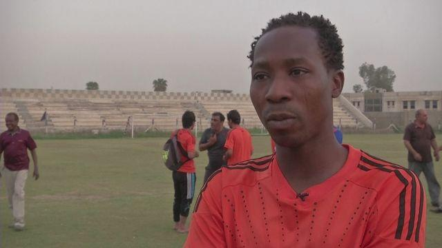 Ghana international Habib Mohamed making his way in Iraq