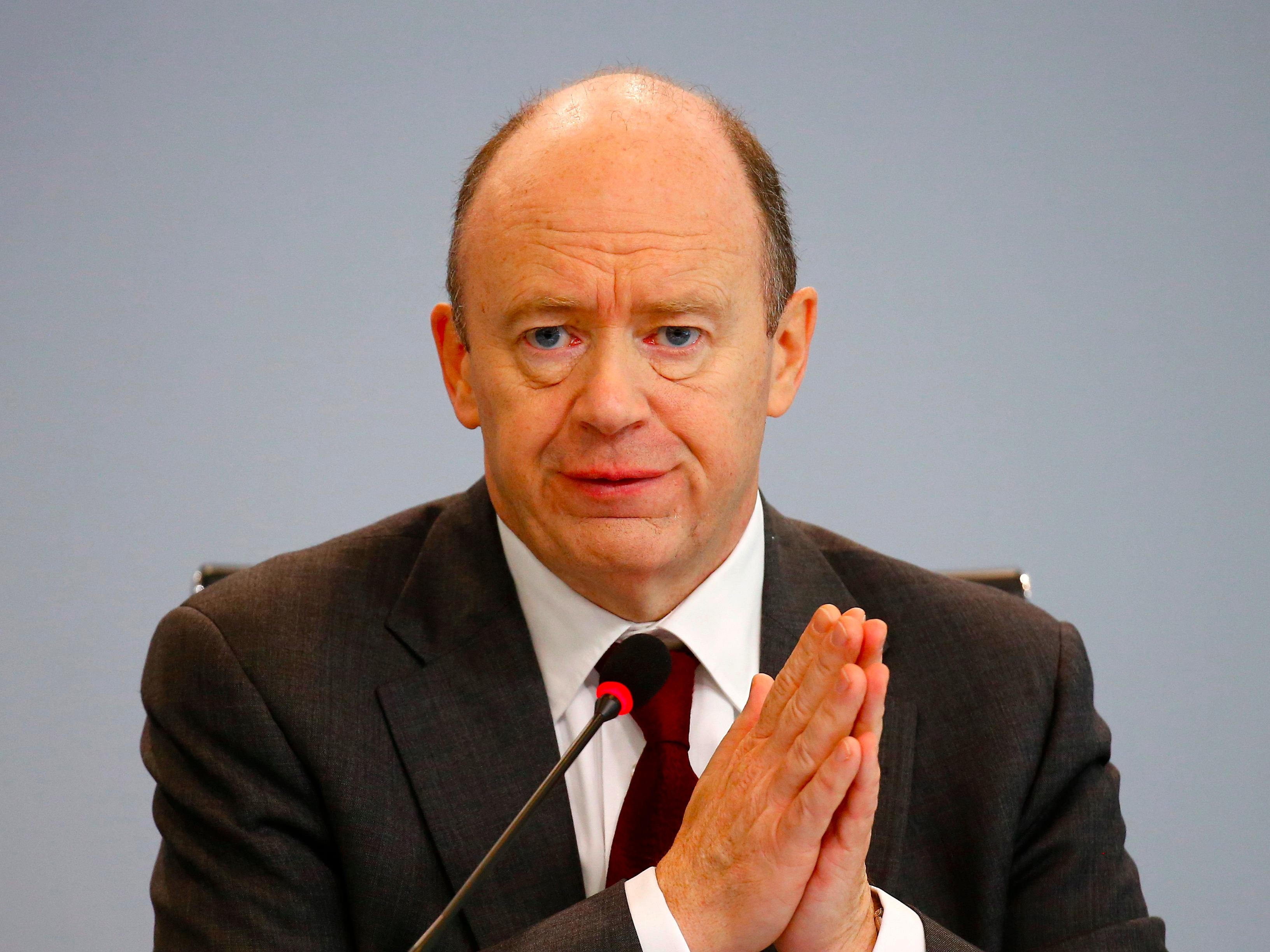 Deutsche Bank's CEO says the bank is 'absolutely rock-solid' in memo to employees