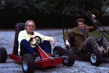 Co-screenwriters Owen Wilson and Wes Anderson of Touchstone's Rushmore