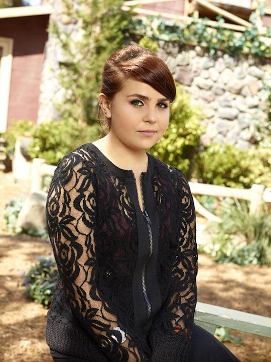 "Mae Whitman as Amber Holt in ""Parenthood."""