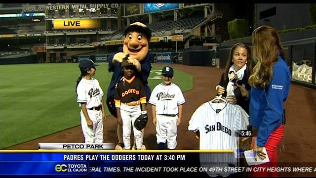 Padres to face Dodgers in sold-out home opener