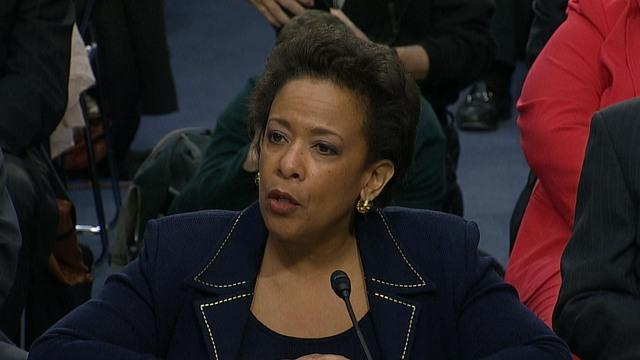 "Loretta Lynch promises Congress the Constitution will be her ""lodestar"""