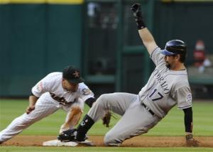 Rockies get 5-3 opening day win over Astros