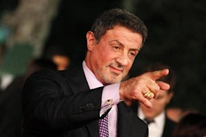 """Actor Sylvester Stallone poses during the red carpet of the movie """"Bullet to the Head"""" at the Rome Film Festival"""