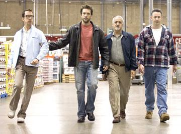 Andy Dick , Dane Cook , Brian George and Harland Williams in Lionsgate Films' Employee of the Month