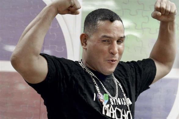 "Former Puerto Rican welterweight boxing champion Hector ""Macho"" Camacho poses in Guaynabo"