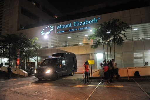 &lt;p&gt;A police morgue vehicle is parked in front of the Mount Elizabeth hospital in Singapore on December 29, 2012, to retrieve the dead body of the Indian gang-rape victim. The 23-year-old woman died Saturday in Singapore after suffering severe organ failure, the hospital treating her said, in a case that sparked widespread street protests over violence against women.&lt;/p&gt;