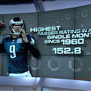 Mind-blowing stats: Philadelphia Eagles QB Nick Foles having a historic season