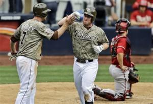Gyorko, Venable homer in Padres' win over Arizona