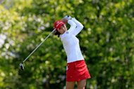 So Yeon Ryu of South Korea hits her tee shot on the tenth hole in the quarter final round of the Sybase Match Play Championship at Hamilton Farm Golf Club in Gladstone, New Jersey. Ryu was ousted 2-up by American Vicky Hurst