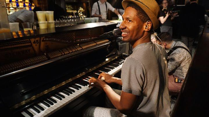 Jon Batiste Celebrates Beatles Anniversary on 'The Late Show With Stephen Colbert'