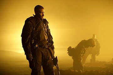Jake Gyllenhaal as Anthony Swofford in Universal Pictures' Jarhead
