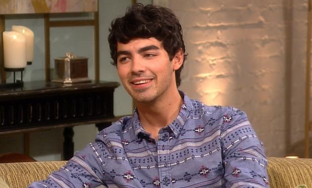 Joe Jonas stops by Access Hollywood Live on August 13, 2012 -- Access Hollywood