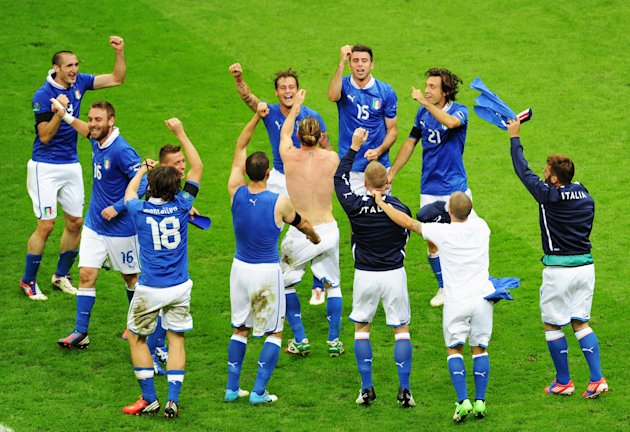 Germany v Italy - UEFA EURO …