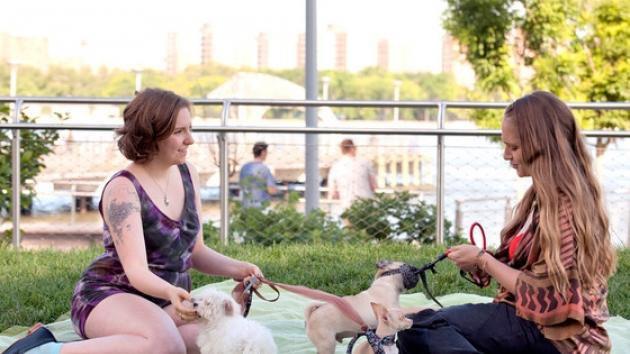 A scene from HBO's 'Girls'  -- HBO