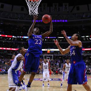 Kansas Tops Duke In A Game Of Champions