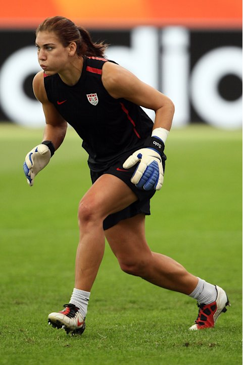 USA Press Conference & Training - FIFA Women's World Cup 2011