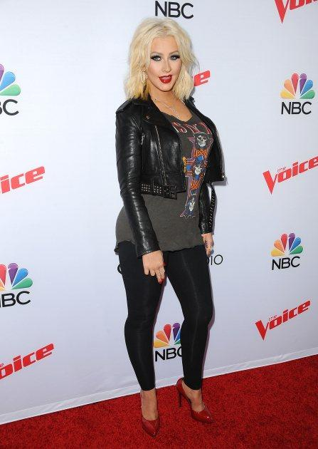 Christina Aguilera Impersonates Miley Cyrus, Britney Spears & More