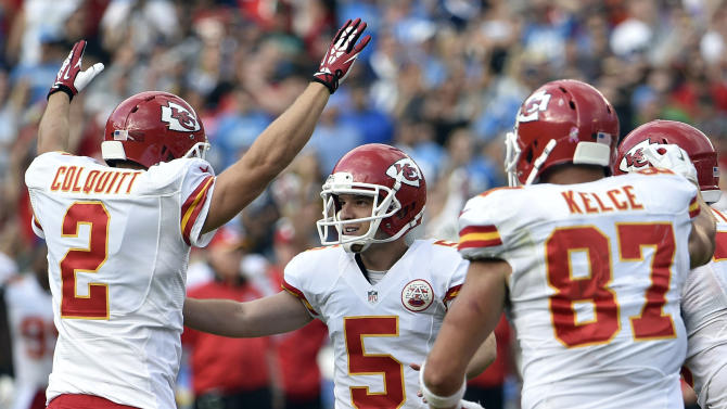 After early trouble, Chiefs' Santo becoming clutch