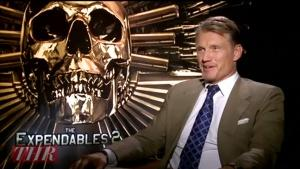 'Expendables 2' Star Dolph Lundgren on Why He Returned for the Sequel (Video)