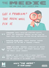 Workology Personality Types: The Medic image JESS3 Mindjet Facecard Medic Back v2