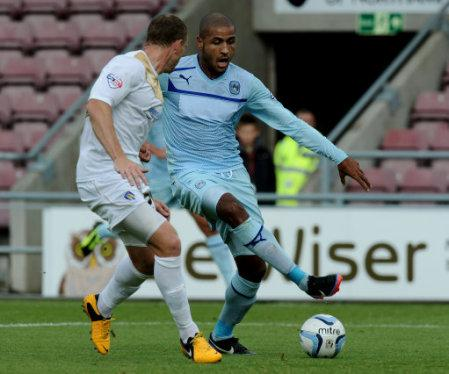 Soccer - Sky Bet Football League One - Coventry City v Colchester United - Sixfields Stadium