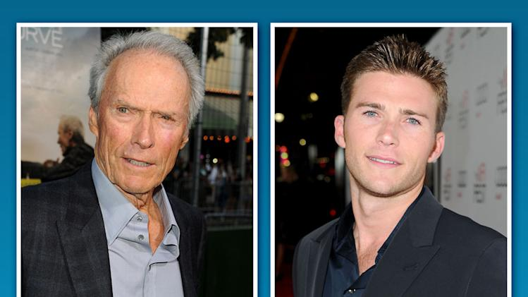 Clint Eastwood and Scott Eastwood