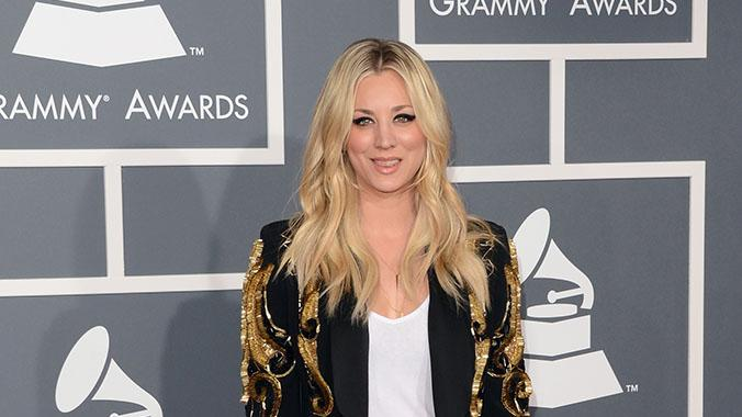 The 55th Annual GRAMMY Awards - Arrivals: Kaley Cuoco
