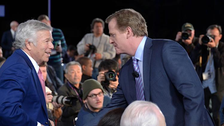 NFL: Super Bowl XLVII-Commissioner Roger Goodell Press Conference