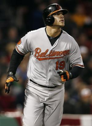 Davis and Jones lift Orioles past Red Sox 3-2