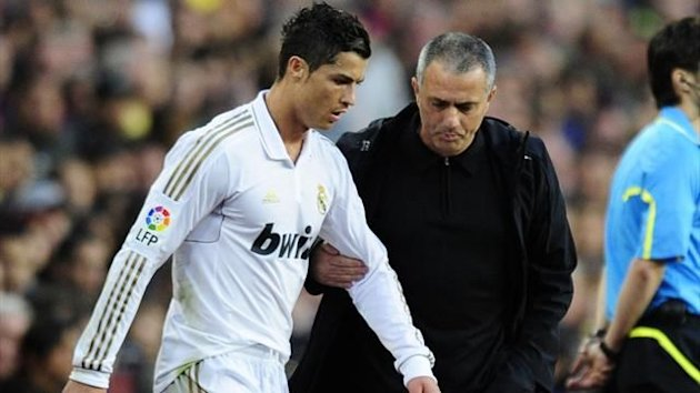 FOOTBALL 2012 Real Madrid - Ronaldo et Mourinho
