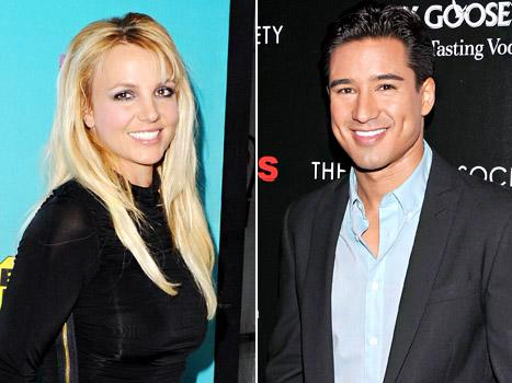 Britney Spears: Mario Lopez Can Be My Backup Dancer If He Wears a Thong