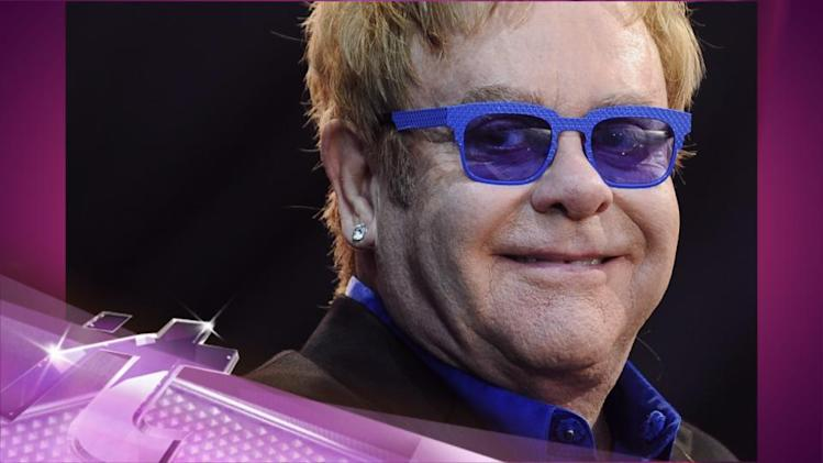 "Entertainment News Pop: Elton John Talks Appendicitis: ""I'm Lucky to Be Alive"""