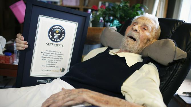 111-year-old Alexander Imich