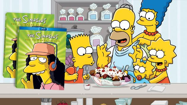 """The Simpsons"" - Season 15 DVD & Blu-Ray"