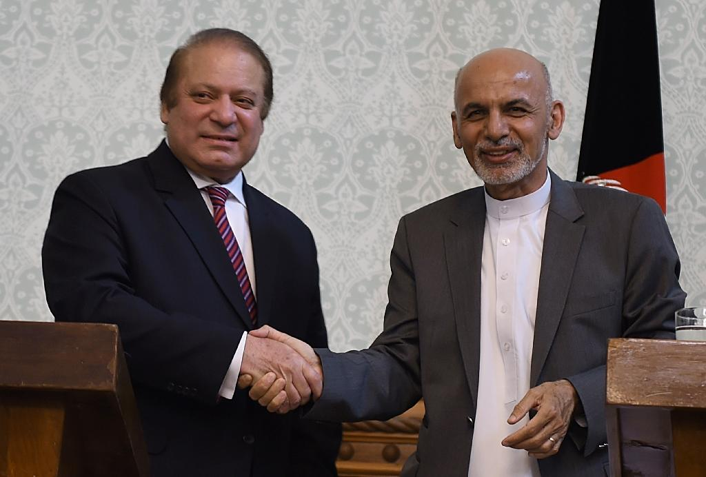 Pakistan and Afghan leaders vow to resume Taliban peace talks