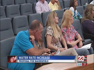 Bakersfield water rates slated to increase