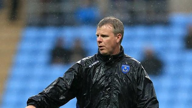 Portsmouth's caretaker manager Andy Awford was disappointed with his side's 2-2 draw with Wycombe