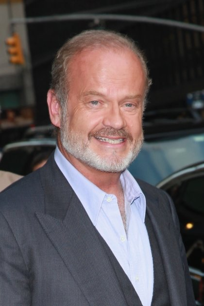 Kelsey Grammer departs 'Late Show with David Letterman' at Ed Sullivan Theater, New York City, on August 20, 2012 -- Getty Images