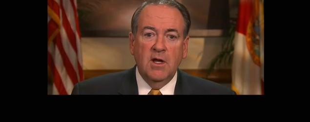 Huckabee likens being gay to drinking, swearing