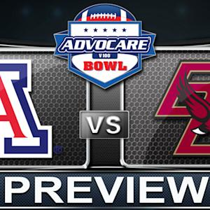 AdvoCare V100 Bowl Preview | Arizona vs Boston College
