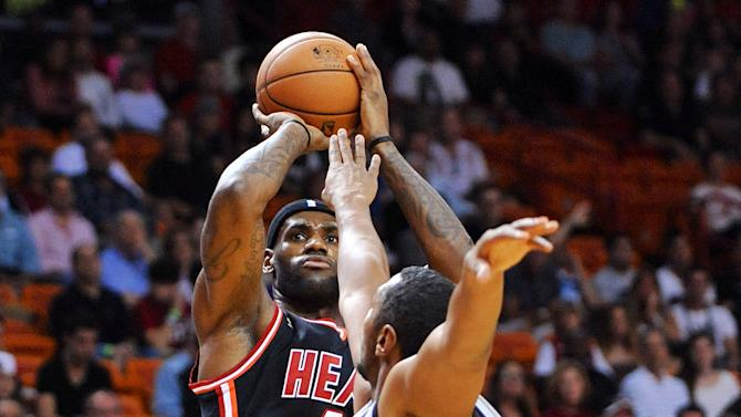 NBA: San Antonio Spurs at Miami Heat