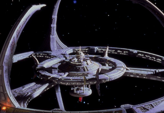 sci fi space stations - photo #9