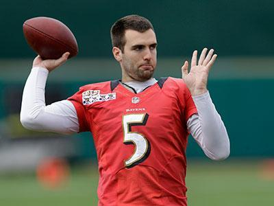 Jim Harbaugh: Flacco Is Outstanding