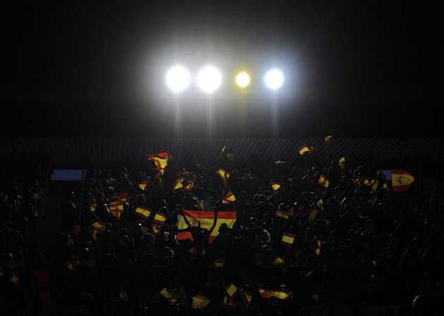 Spanish Supporters AFP/Getty Images