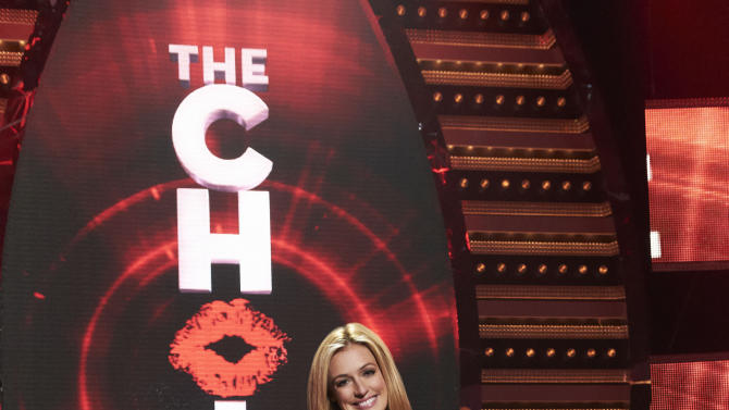 "This undated image released by Fox shows Cat Deeley, host of the new Fox dating series, ""The Choice,"" premiering June 7, 2012. (AP Photo/Fox, Michael Becker)"