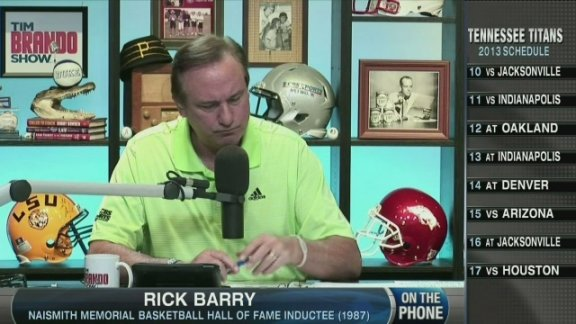 Rick Barry on NBA Conference …