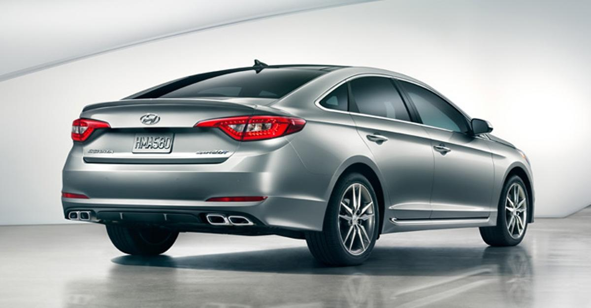 The 2015 Hyundai® Sonata: Innovation That Protects