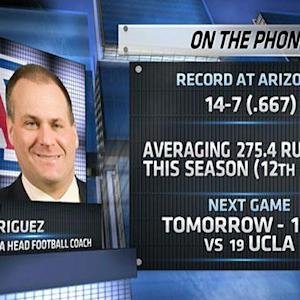 Rich Rodriguez talks UCLA match-up