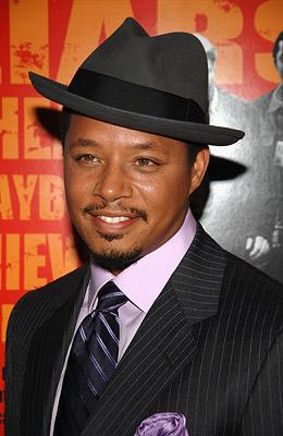 Terrence Howard at the New York premiere of The Weinstein Company's The Hunting Party